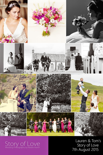 Natalie never stopped all day, couldn't have been nicer and made you feel totally at ease. Most importantly the end product was totally amazing! Really pleased we chose her for our wedding and cannot recommend her highly enough. Thanks Natalie