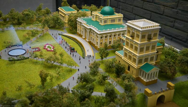 Дворец Румянцевых и Паскевичей г.Гомель