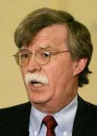 John Bolton, nominado por el presidente George W. Bush a la embajada estadunidense ante la Organización de Naciones Unidas FOTO Reuters