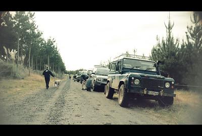 Land Rover-ing