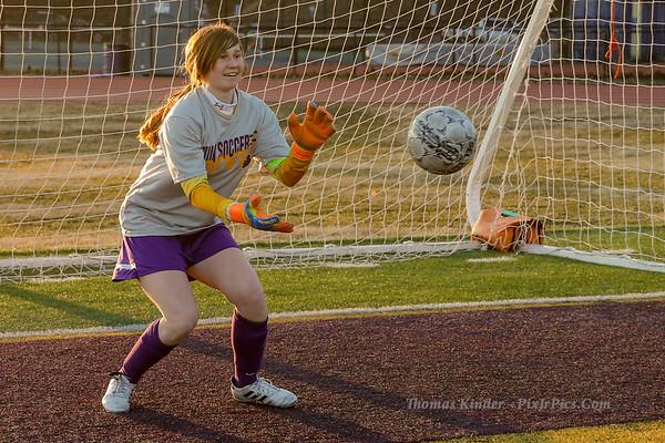 Girls JV Soccer v Wakefield 3/4/19
