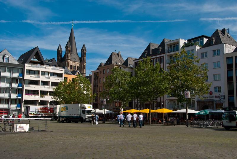 Square in Cologne