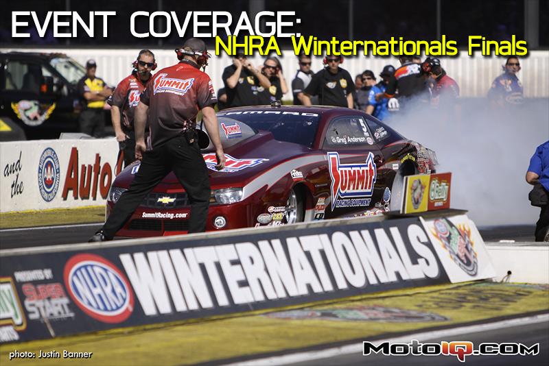 NHRA Winternationals Finals Coverage