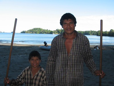 01-10-07 thru 01-19-07 Isla Parida Panama, Hibiscus, Sisihutl