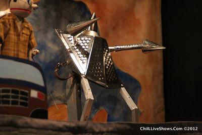 Bat Honey Adult Puppet Show--Ironwill Tate
