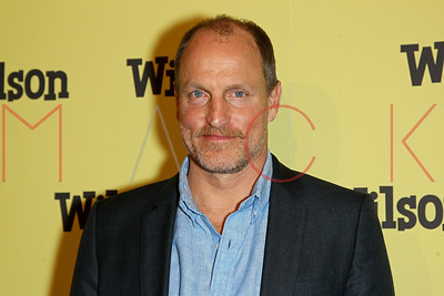 """NEW YORK, NY - MARCH 19:  Woody Harrelson attends the """"Wilson"""" New York Premiere at the Whitby Hotel."""
