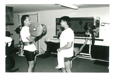 1988 New Weight Room Opens 7-1988