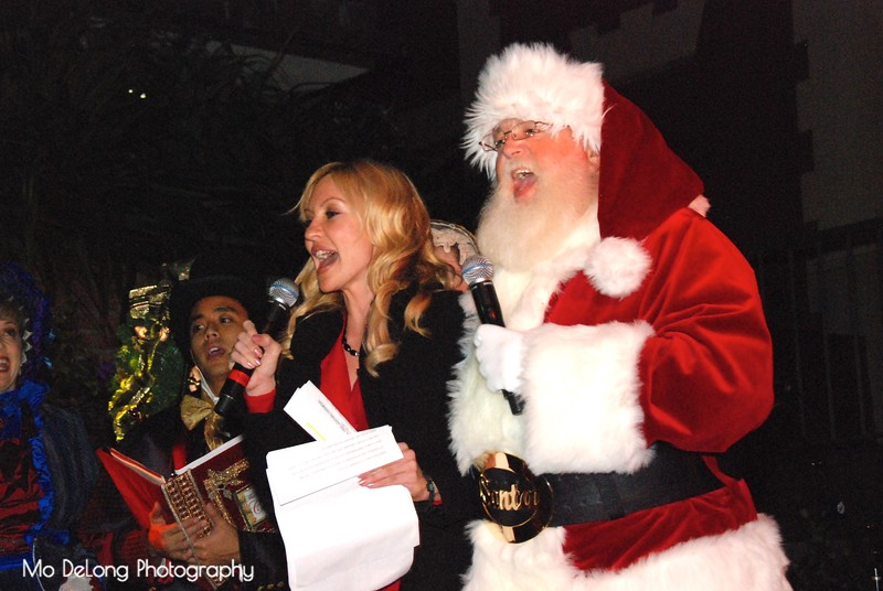 Christina Loren and Santa.jpg
