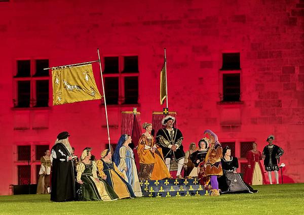 François 1er et sa Reine