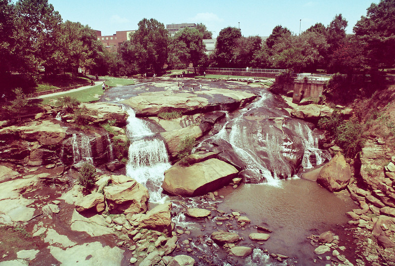 Reedy River Falls - Greenville, SC.
