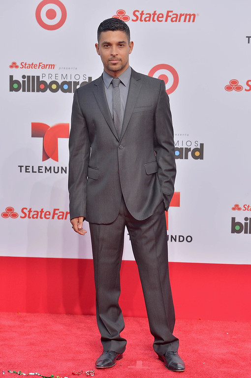 . MIAMI, FL - APRIL 25:  Wilmer Valderrama arrives at Billboard Latin Music Awards 2013 at Bank United Center on April 25, 2013 in Miami, Florida.  (Photo by Gustavo Caballero/Getty Images)