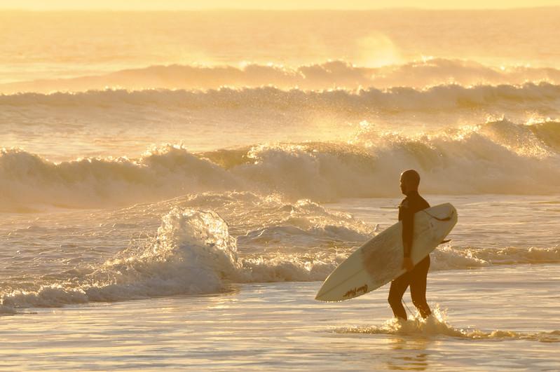 Surfer, Playalinda Beach