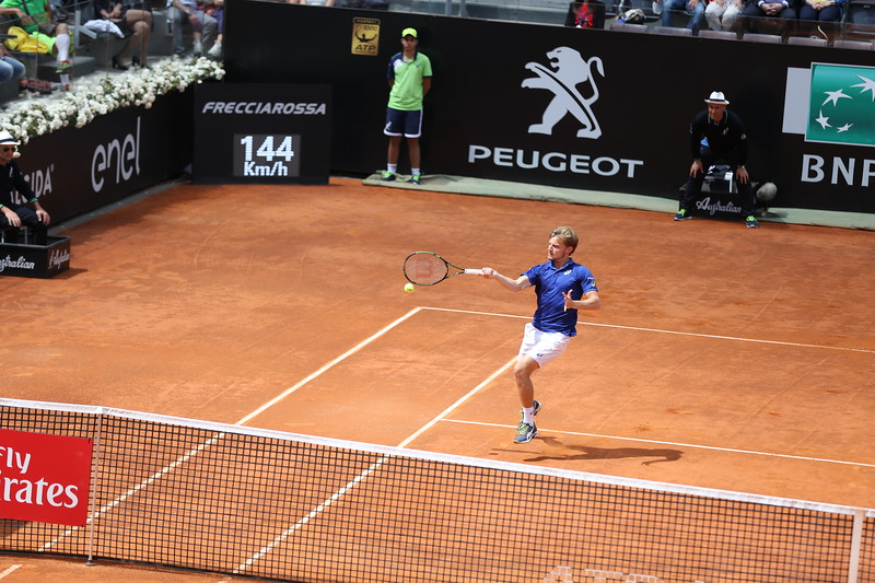 Gofin forehand