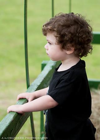 Benjamin at the farm 03-08-14