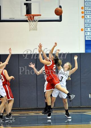 Conrad Weiser VS Fleetwood Girls Basketball 2010 - 2011