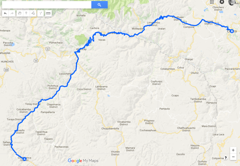 Chalhuanca to Cusco.png