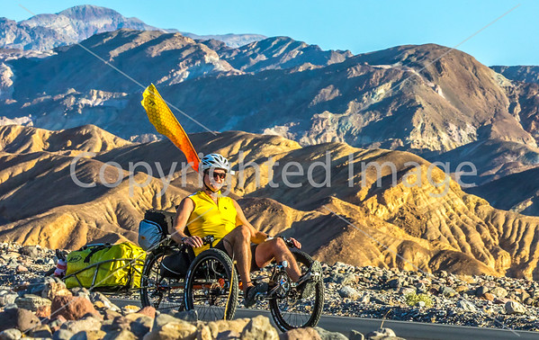 Recumbent Trike in Death Valley National Park  #1