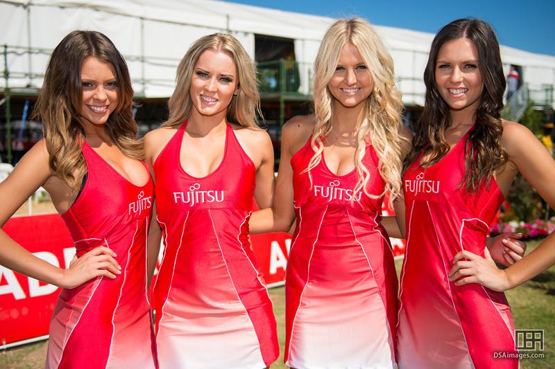 Fujitsu girls