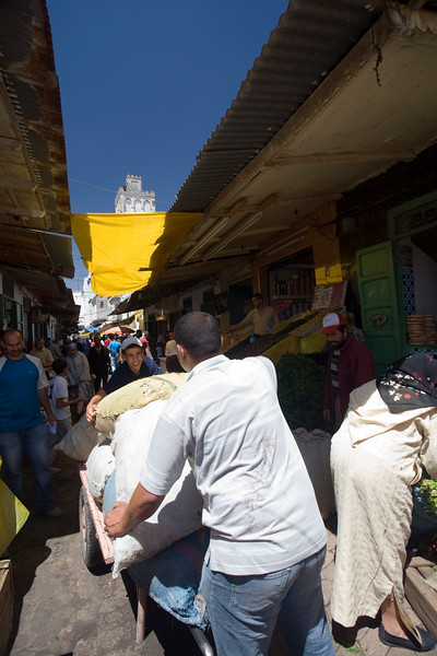 Scene in the souk, Tetouan, Morocco