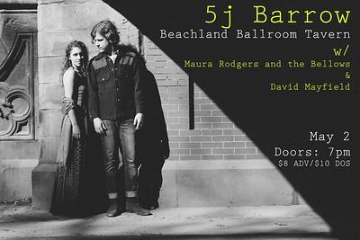5J Barrow at Beachland Tavern