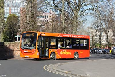 131, YX63LGU, Reading Buses, The Forbury