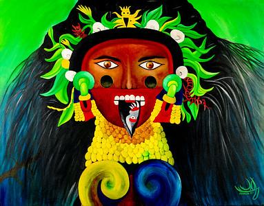 Tlaltecuhtli By Mayra Armijo Ugalde