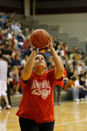 SNHS Boys Basketball vs Faculty 2009