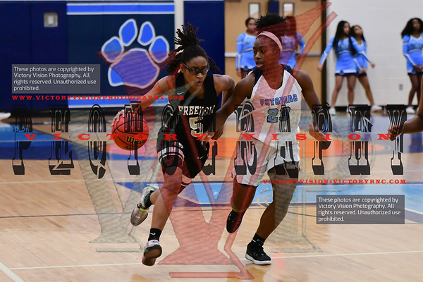 Freedom @ Potomac Girls Varsity Basketball 2-12-20 | VHSL District Playoffs