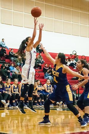 January 16, 2018 - Basketball - Girls - McAllen High vs Palmview_LG