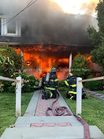 August 14, 2020 - 47 Plandome Road [Building Fire]