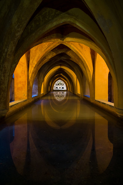 Baths of Lady Maria de Padilla, Seville, Spain