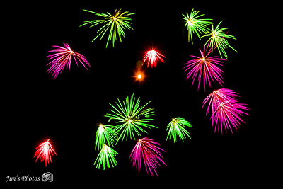 Fireworks - Fire On The River [d] July 03, 2021