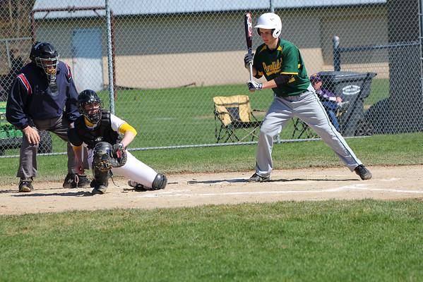 Baseball vs. Pennfield - 4/25/14 - KCHS