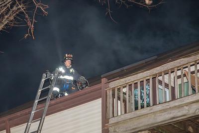 Broadbridge Ave. Condo Fire (Stratford, CT) 1/28/18