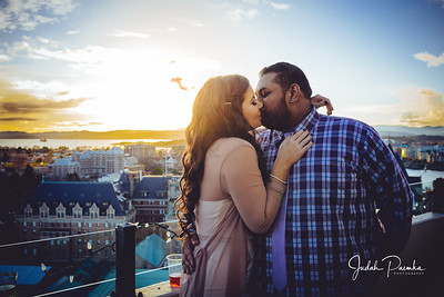 Lisa's & Jason's Engagement Party | Downtown Victoria