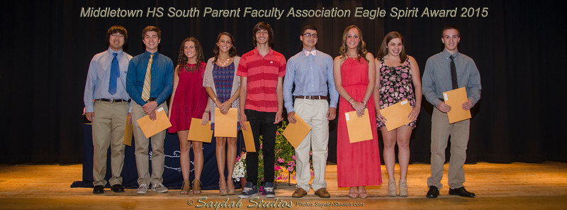 Middletown HS South Student Awards Night - June 3rd 2015