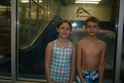Courtney And Luke Surf - July 2011