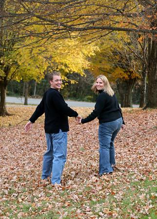 Madison and Lori Fall Portraits