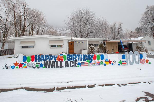 Wallace Gatrell 100th Birthday