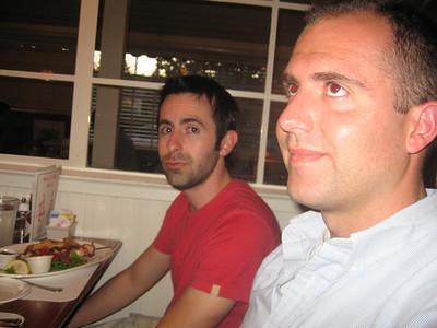 Chad takes California Bar July 2006