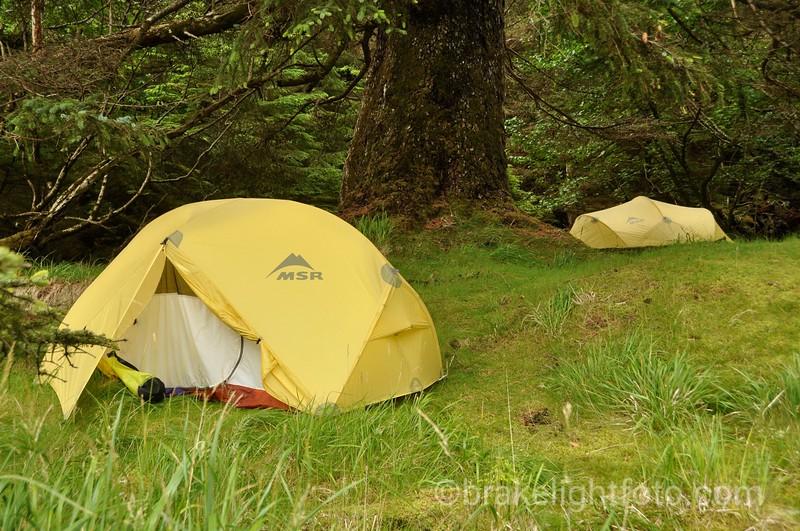 Tent site Peril Bay