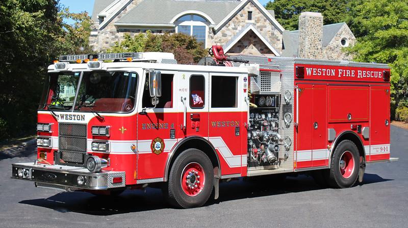 Retired.  Engine 4.  2007 Pierce Saber   1250 / 500