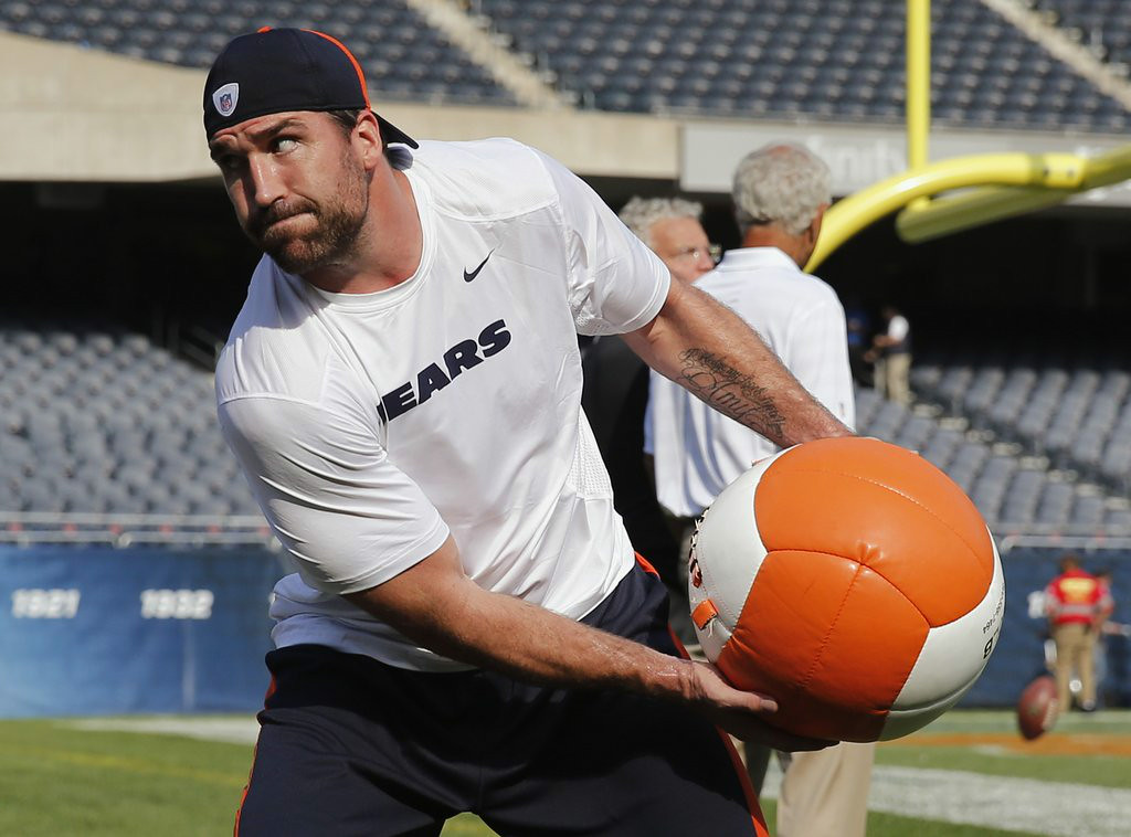 ". <p><b>CHICAGO BEARS</b> </p><p><i>�Just Jared Allen�</i> </p><p>The Viking fave will lasso sacks </p><p>In a city where he has been hated </p><p>But they won�t mind, those Soldier Field hacks </p><p>Will arrive at each game �medicated� <br></p><p>PREDICTION: <b>7-9 � Third place in NFC North </b> </p><p><b><a href=""http://www.csnchicago.com/bears/jared-allen-feeling-some-regret-after-first-game-action-bears\"" target=\""_blank\""> LINK </a></b> </p><p>   (AP Photo/Charles Rex Arbogast)</p>"