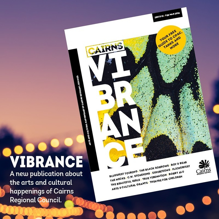 Vibrant Magazine Issue #1, Feb-March 2020 (photo credit: Cairgna Regional Council.