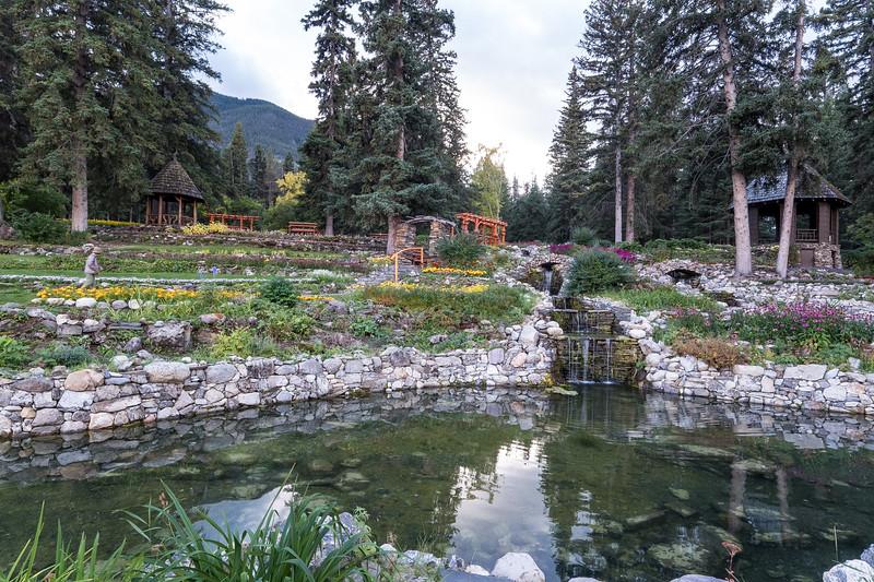 The Cascade of Time Garden