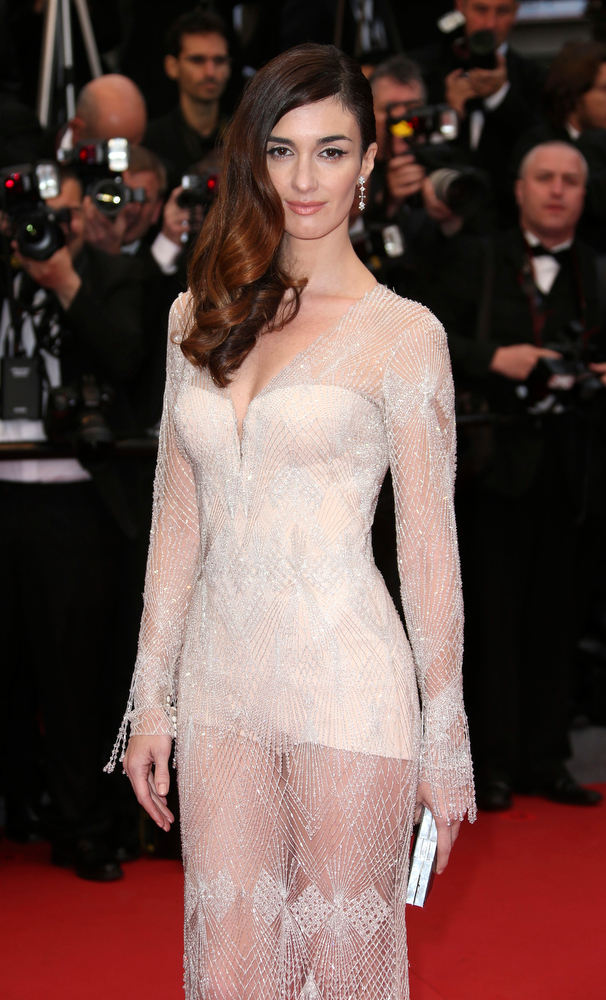 . Actress Paz Vega arrives for the opening ceremony and the screening of The Great Gatsby at the 66th international film festival, in Cannes, southern France, Wednesday, May 15, 2013. (Photo by Joel Ryan/Invision/AP)