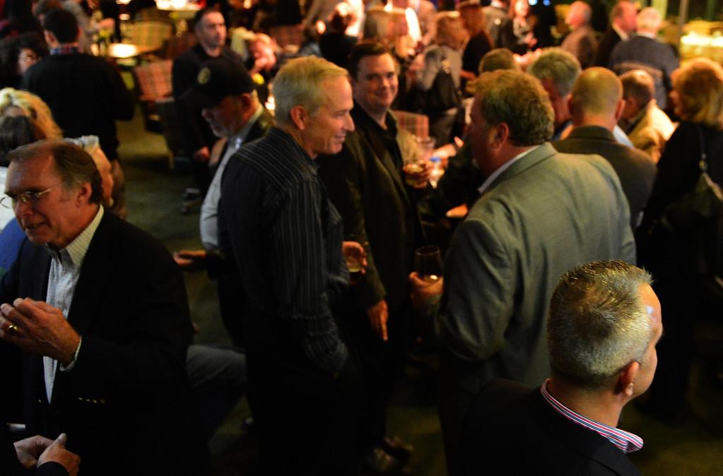 . The victory party for San Bernardino Mayor-elect Carey Davis was held Tuesday night at Arrowhead Country Club. LaFonzo Carter/The Sun