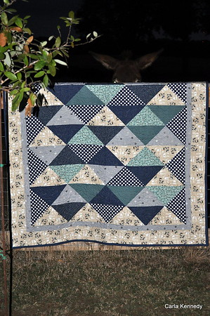 2019 11-06 Blame it on the wine. Hailey's Baby Quilt