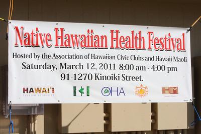 Native Hawaiian Health Festival 2011