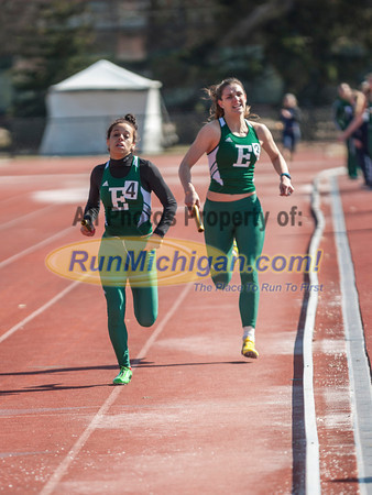 Women's 4x400 Relay - 2014 MSU Spartan Invite